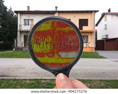 Infrared Thermal Imaging Investigation with Loupe