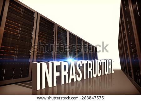 infrastructure against server hallway