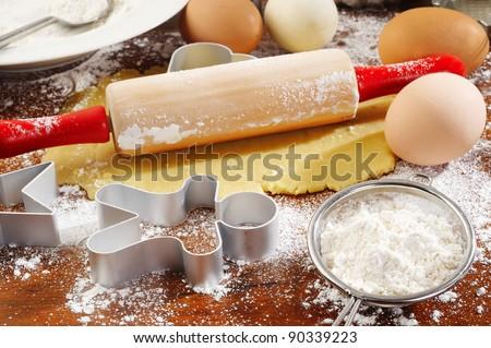 ingredient of  homemade baking