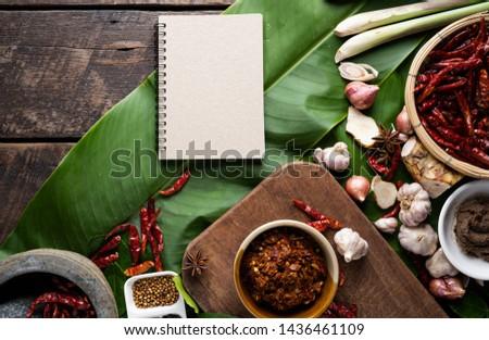 Ingredients and ingredients of Thai food
