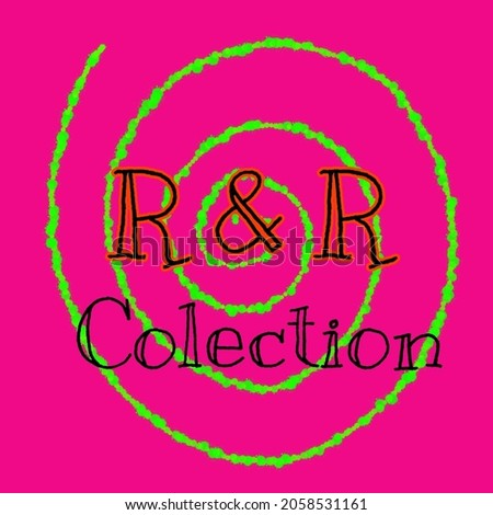 initial R and R collection logo template design can be used as brand inspiration