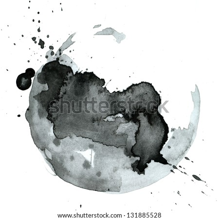 Photo of  Ink black stain