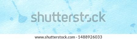 Ink Colored Surface. Bohemian Hippie Art. Dots Handdrawn. Noise Elements. Dirty Painted Blotch. Irregular Grain Effect. Blue Winter Grunge Noise. Watercolour Smudges.
