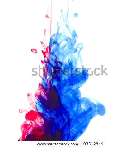 Ink in water with great colors