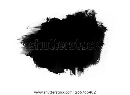 Ink splash collection - design template