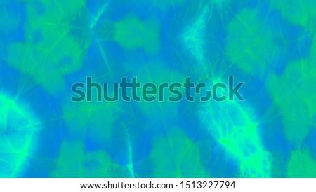 Ink Watercolor Dye. Aerial Invitation. Blue Artistic Template. Malachite Decorative Blotch. Wavy Acrylic Art. Azure Christmas Poster. Teal Ink Watercolor Dye.