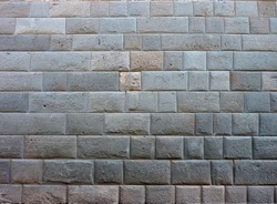 Inka mansonry wall from Cuzco