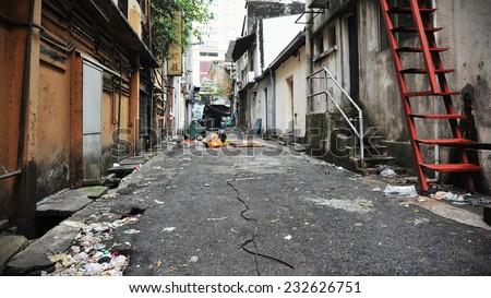 Inner City Alley Background #232626751