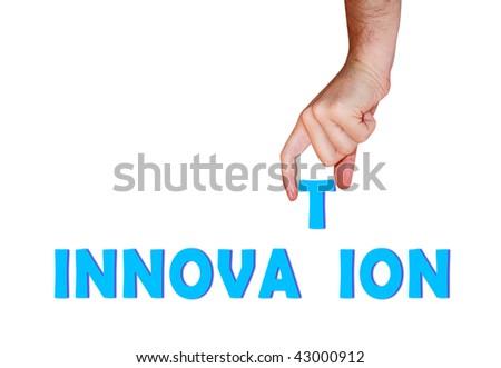 Innovation concept - stock photo