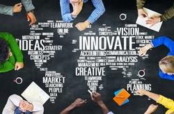 Innovation Inspiration Creativity Ideas Progress Innovate Concept