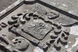Inscriptions on old gravestones in Scotland