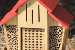 insect house for the patio or garden