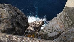 Inselimpressionen, altstadt, häuser und gassen, berge und meer, natürliche schönheit