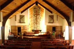 Inside a church 1.