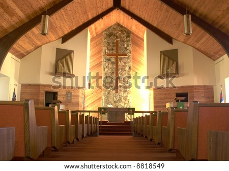 Inside a church 3.