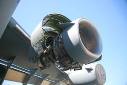 Inside C-17 Military Aircraft Engine