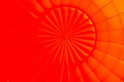 Inside Colorful Hot Air Balloons
