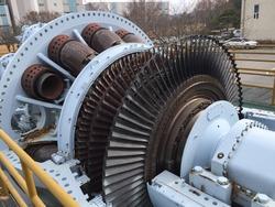 Inside Gas Turbine, the main facility of combined firepower