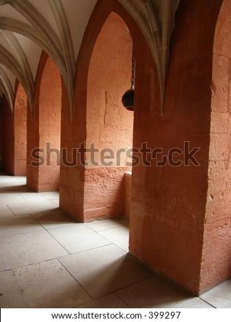 Inside Kuressaare castle