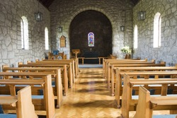inside of a church hall