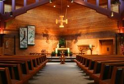 Inside of a Lutheran Church