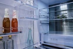 Inside of refrigerator fridge