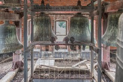 Inside the Abandoned St Giles United Church in Hamilton, Ontario