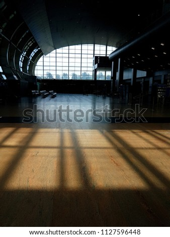Inside the airport #1127596448