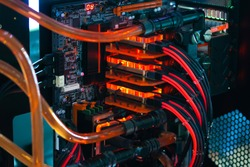 Inside the computer case modify