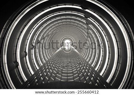 Inside the Time Tunnel  #255660412