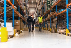 Inspection at warehouse