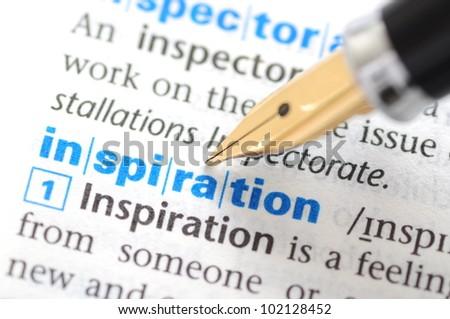 Inspiration - Dictionary Series