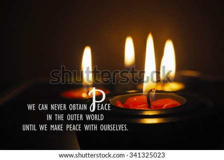 Free Photos Inspiration Motivational Life Quote On Candle Light In