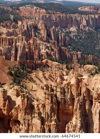 Inspiration Point view at Bryce Canyon National Park