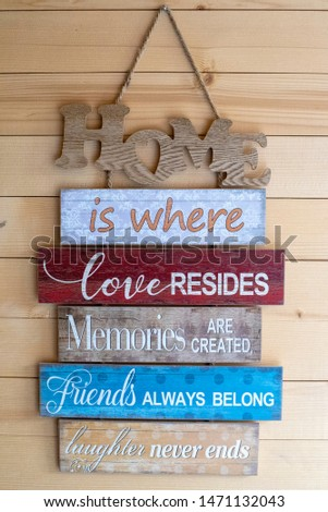 Inspirational and positive quote signs