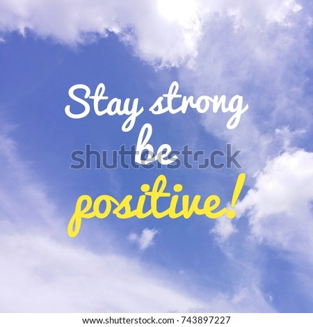 Free Photos Inspirational Motivation Quote On Blue Sky With Cloud