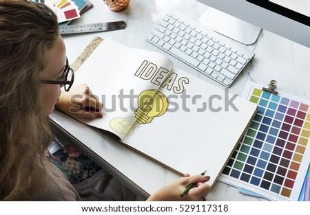 Inspire Fresh Ideas Creativity Concept - Shutterstock ID 529117318
