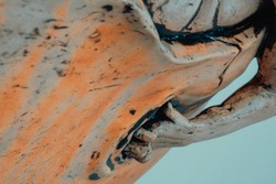 Inspiring the Birth of the New Human ceramic work
