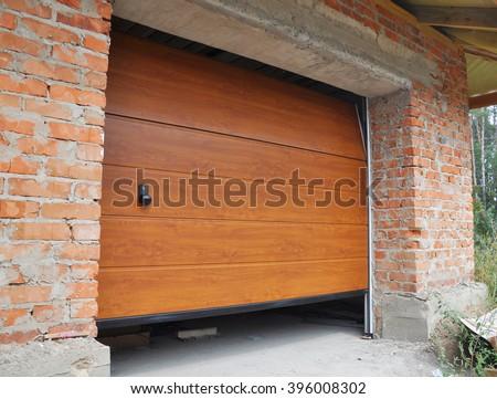 Install New House Garage Door.  Garage Door Installation. #396008302