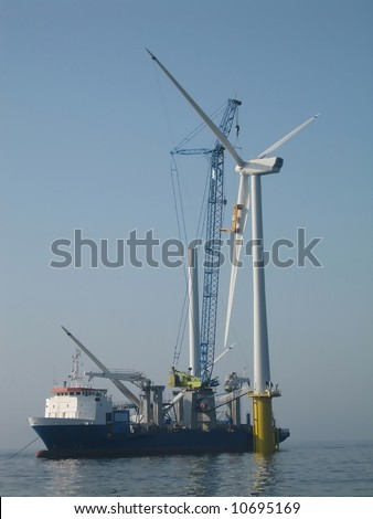 installation of offshore wind turbine