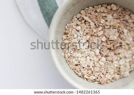 Instant Oatmeal for healthy breakfast image