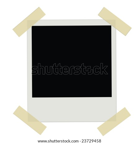 Instant Photo Film (Vector file available in my portfolio) - stock photo