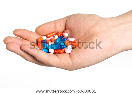 Insulated Hand with pills
