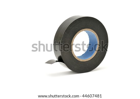 insulating tape isolated on a white