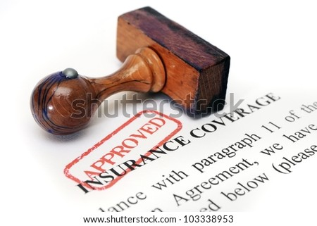 Insurance coverage - stock photo