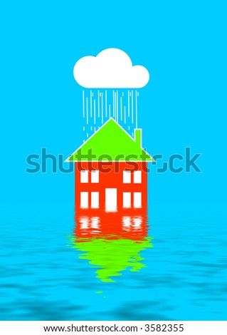 Insurance - Water damage in your home (flood, hurricane, tornado)
