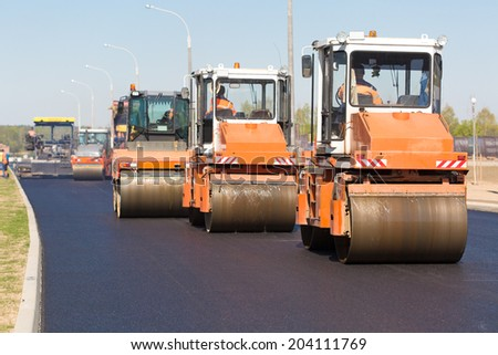 Intelligent Compaction for Asphalt Concrete Surface with Road Crews Rollers during Road Construction Works