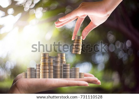 Interest Investment ideas, returns, financial returns, investment businesses Follow the steps and have little risk #731110528