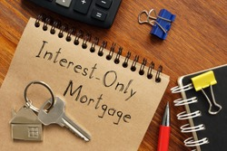 Interest-Only Mortgage is shown on the business photo using the text