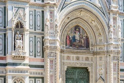 Interesting Particulars of The Florence Baptistery,  Battistero di San Giovanni, also known as the Baptistery of Saint John, is a religious building in Florence, Italy, and has the status of a minor b